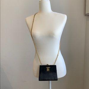 Authentic, Salvador Ferragamo crossbody bag used